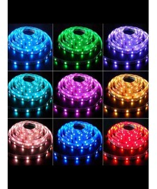 400050 Лента 5050LED 12V 14.4W/m 60LED/m 10-12lm/LED IP20 RGB 200m/box ЦВЕТНАЯ, шт